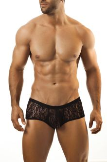 Joe Snyder Cheek Boxer Black Lace